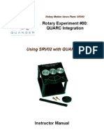 01 - SRV02 QUARC Integration - Instructor Manual