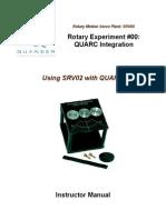 01 - SRV02 QUARC Integration - Instructor Manual