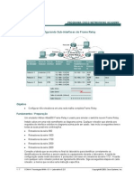 CCNA4 Lab 5 2 5 PtConfigurandoSub-InterfacesdoFrameRelay