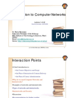 Computer Network Lecture 1 2005 2006