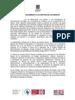 Informe Gestion Riesgos Ver1