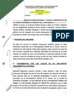 2014-04-10 - Casación Laboral Nº 5192-2012-Junin-21!01!2013, Devengados en via Laboral Seran Procesos Ordinarios