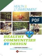 Public Health and the Built Environment Program