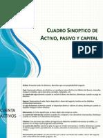 Activo Pasivo y Capital