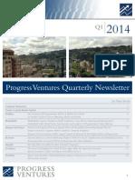 Progress Ventures Newsletter 1q2014
