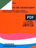 WOLIN Los Hijos de Heidegger