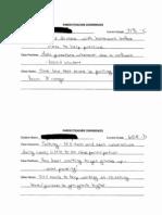 Parent/Teacher Conferences Form