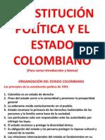 Organización Del Estado Colombia