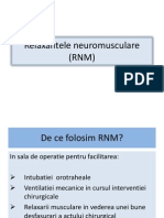 Relaxantele neuromusculare