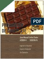 Proyecto de Produccion de Chocolate