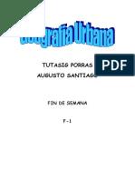 Cuestionario de Geografia Urbana