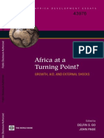 Africa at a Turning Point_Growth, Aid and External Shocks_World Bank Book_602 Pages
