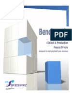 Benchmark Clinical and Production Freeze Dryers