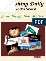 Some Things That Matter  May 2014