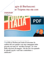 Le Eurobugie Di Berlusconi