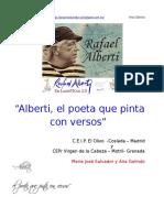 Rafael Alberti y el mar. Poemas
