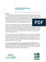 2014 HAB State Survey Summary of Results and Recs Final