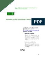 IFLA-UNESCO Diretrizes Ifla Unesco Bibliotecas Escolares