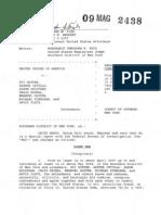 Goffer, Zvi Complaint