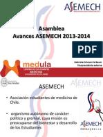 Asamblea ASEMECh (24 de Abril de 2014)