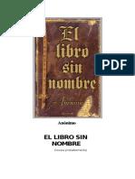 55268108 Anonimo El Libro Sin Nombre
