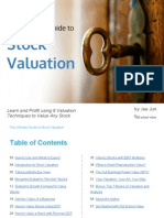 The Ultimate Guide to Stock Valuation