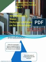 Presentación 4 Defectos Estructurales