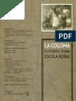 """Díptic """"Històries d'una escola rural"""" 2014"""