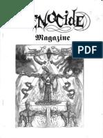 Genocide Zine 3 1996