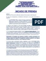 Federación Nacional de Trabajadores del Ministerio Público anuncian huelga para el 5 de mayo