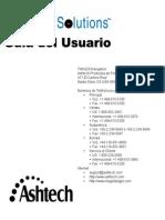 Ashtech Solutions 630821-02 RevA Spanish