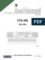 Casio Ctk 496