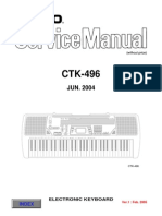 Casio Ctk 496