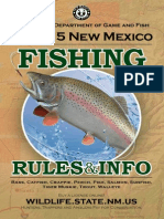 New Mexico Department of Game and Fish's Fishing Rules Info Book 2014-2015