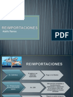 REIMPORTACIONES