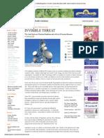INVISIBLE THREAT _ Vitality Magazine _ Toronto Canada Alternative Health, Natural Medicine and Green Living