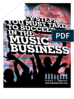 10 Key Steps to Succeed in the Music Business