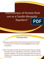 PPT Effectiveness of Pomelo Rind