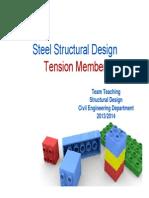 PPT Tension Member Perancangan struktur baja UI