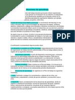 Situaciones de Aprendizaje Ficha de Contenidos y Texto. Prof Lucina