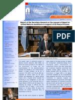 April 2009 UN Newsletter