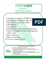 10 tips for a successful college experience 2