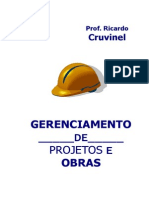 Livro Gerenciamento de Obras Ricardo Cruvinel