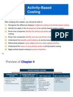 CH 2 Activity-Based Costing