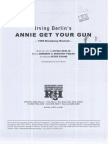 (Conductor's Score) Annie Get Your Gun by Berlin[1999 Revival] (Conductor's Score)
