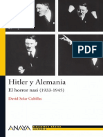 Hitler y Alemania El Horror Nazi (1933-1945)