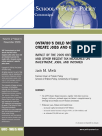 Ontario's bold move to create jobs and growth - Jack Mintz