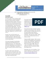 KMA Newsletter Nov 1 09