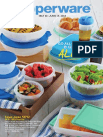 Tupperware Mid-May 2014 Brochure