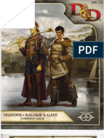 Murder in Baldurs Gate - Setting Book
